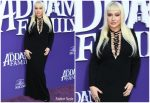 "Christina Aguilera  In Tom Ford @ ""The Addams Family"" LA Premiere"