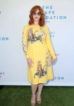 Christina Hendricks  In Dolce & Gabbana @ The Rape Foundation's 2019 Annual Brunch in Beverly Hills