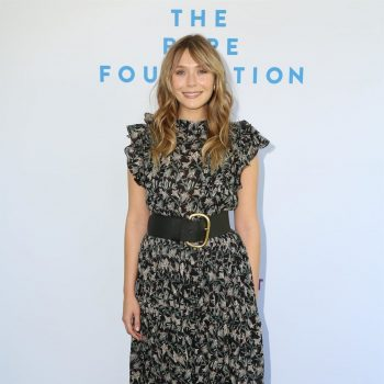 elizabeth-olsen-in-floral-print-dress-@-the-rape-foundation's-2019-annual-brunch-in-beverly-hills