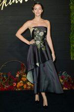 """Ella Hunt  In Oscar de la Renta @ """"Dickinson"""" Premiere in New York"""