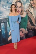 Emilia Clarke In  Marco de Vincenzo @ The 'Last Christmas' Berlin Photocall
