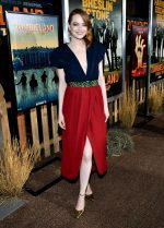 Emma Stone  In Louis Vuitton @  The 'Zombieland Double Tap' LA Premiere