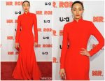 Emmy Rossum  In Rebecca de Ravenel'  @  'Mr. Robot' Season 4 Premiere