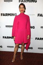 Gugu Mbatha-Raw In  Valentino @  The 'Farming' New York Premiere