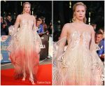 Gwendoline Christie  In Iris van Herpen Haute Couture @ 'The Personal History Of David Copperfield' BFI London Film Festival Premiere