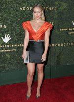 Hilary Duff In  Raisa Vanessa @ 2019 Baby Ball at Goya Studios in Hollywood