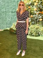 Julia Roberts In Michael Kors @ Veuve Clicquot Polo Classic at Will Rogers State Park in Los Angeles