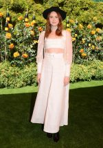 Karen Gillan In  Zimmermann @  2019 Veuve Clicquot Polo Classic in Los Angeles