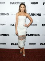 "Kate Beckinsale In Georges Chakra Couture @  ""Farming""  New York  Premiere"