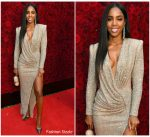 Kelly Rowland In Nicolas Jebran  @ Tyler Perry Studios Grand Opening Gala In  Atlanta Georgia