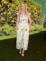 Kirsten Dunst  In Vika Gazinskaya @ 2019  Veuve Clicquot Polo Classic  In Los Angeles