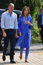 Catherine, Duchess of Cambridge Wears Maheen Khan  For her Visit To Islamabad