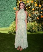 Lea Michele In Amur @   2019 Veuve Clicquot Polo Classic in LA