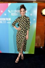 "Lily James In Floral Dress @  ""Rare Beasts"" Premiere at BFI London Film Festival"