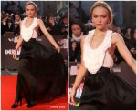Lily Rose Depp  In  Chanel @ 'The King' London Film Festival Premiere