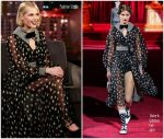 Lucy Boynton  In  Dolce & Gabbana @ Jimmy Kimmel Live