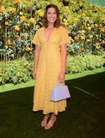 Mandy Moore In Lela Rose @  Veuve Clicquot Polo Classic at Will Rogers State Park in Los Angeles