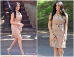 Meghan, Duchess of Sussex In  Banana Republic Trench Dress @ Her University of Johannesburg Visit