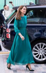 Catherine, Duchess of Cambridge  In  ARoss Girl x Soler  @ The Aga Khan Center
