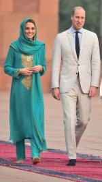 Catherine, Duchess of Cambridge  Wears Maheen Khan In Lahore