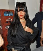 Rihanna  In Fenty @  Fenty Launch Party at Manko Restaurant in Paris