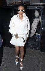 Rihanna  In  Fenty  Out in Soho, London