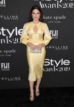 Sophia Bush In Yellow Lace Dress @  2019 Instyle Awards