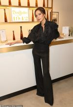 Victoria Beckham & Sotheby's Celebrate Andy Warhol @ The Fashion Designer's London Flagship Boutique