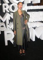 Zoe Saldana  In Fendi @  Nordstrom Store Opening Party in New York