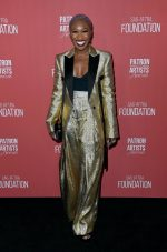 Cynthia Erivo @ SAG-AFTRA Foundation's 4th Annual Patron of the Artists Awards