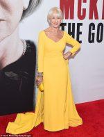 Helen Mirren In  Brandon Maxwell @ 'The Good Liar' New York Premiere