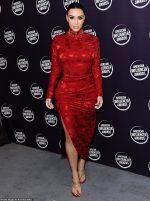 Kim Kardashian  In Vintage Christian Dior @ 2019  Annual American Influencer Awards