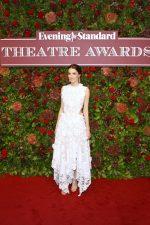 Bee Carrozzini In Alexander McQueen  @ Evening Standard Theatre Awards 2019 In London