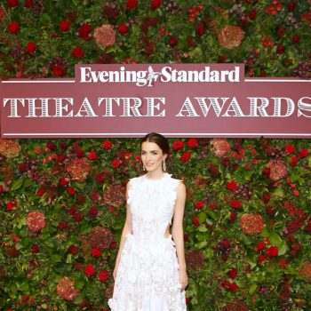 bee-carrozzini-in-alexander-mcqueen-evening-standard-theatre-awards-2019-in-london