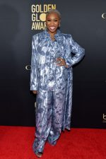 Cynthia Erivo In  SemSem  @  HFPA And THR Golden Globe Ambassador Party