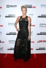 Charlize Theron In Christian Dior @  American Cinematheque Award