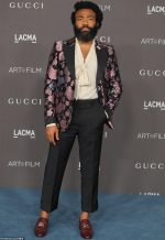 Donald Glover In Gucci @ 2019 LACMA Art And Film Gala