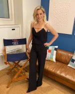 "Elizabeth Banks  In Philosophy Di Lorenzo Serafini @  ""The Late Show with Stephen Colbert"""