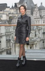 Naomi Scott  In Esau Yori  @   'Charlie's Angels' London Photocall