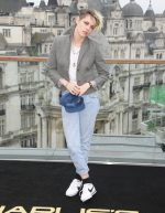 "Kristen Stewart  In Thom Browne @ ""Charlie's Angels"" London Photocall"