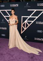 "Ella Balinska  In Vera Wang @ ""Charlie's Angels"" LA Premiere"