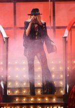 Carrie Underwood Rocks Suit  @ 2019 CMA Awards