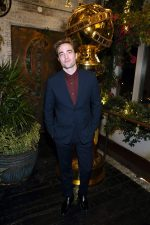 Robert Pattinson In Dior Men @  HFPA & The Hollywood Reporter's 2020 Golden Globe Awards Season  Unveiling