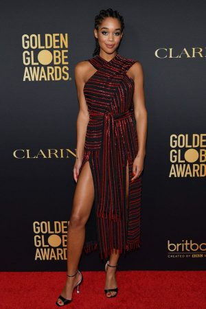 laura-harrier-in-alutzarra-hfpa-the-hollywood-reporters-2020-golden-globe-awards-season-unveiling