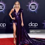Carrie Underwood In  Stello Gown @  2019 American Music Awards