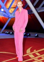 Tilda Swinton In Haider Ackermann @ Marrakech International Film Festival Opening Ceremony