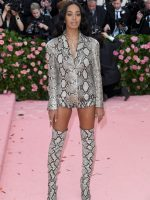 Solange Knowles  In Salvatore Ferragamo  @ 2019 Met Gala