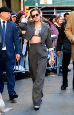 Kristen Stewart  In  Acne Studios Suit  @  Good Morning America