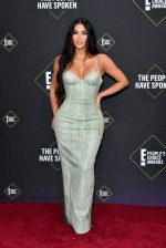 Kim Kardashian In Vintage Versace @  2019 People's Choice Awards