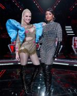Gwen Stefani & Eve Reunites To  Perform   'Rich Girl' On 'The Voice'